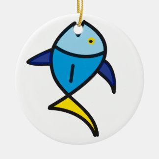魚 セラミックオーナメント
