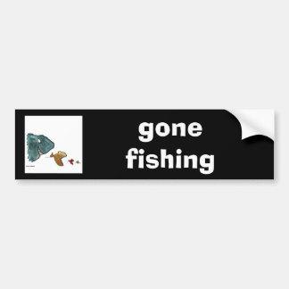 魚 バンパーステッカー