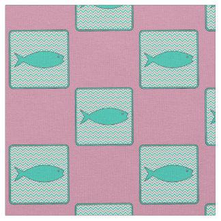 魚 ファブリック