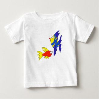 魚 ベビーTシャツ
