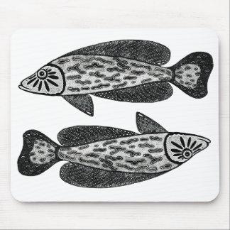 魚 マウスパッド