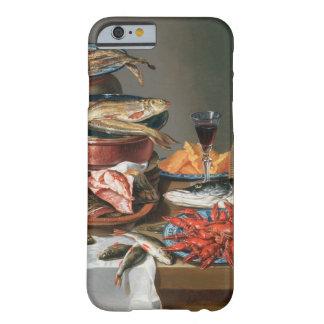 魚、マスおよびベビーのロブスター、1の静物画 BARELY THERE iPhone 6 ケース