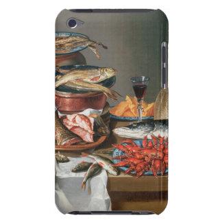 魚、マスおよびベビーのロブスター、1の静物画 Case-Mate iPod TOUCH ケース