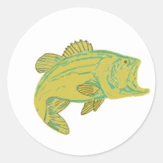 魚 ラウンドシール