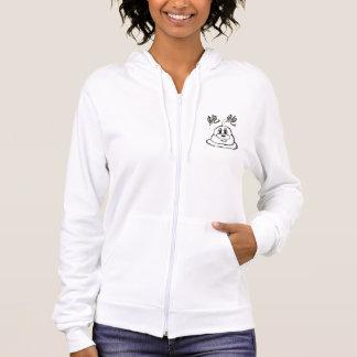 鮑鮑のHanes白く及び黒いComfortBlend®のフード付きスウェットシャツ1 パーカ