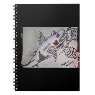 鮫かピラニア ノートブック