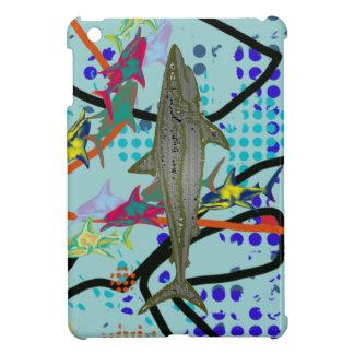 鮫のデザイン iPad MINIケース