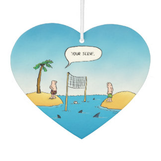 鮫のバレーボールのおもしろいな漫画 カーエアーフレッシュナー