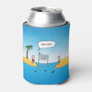 鮫のバレーボールのおもしろいな漫画 缶クーラー