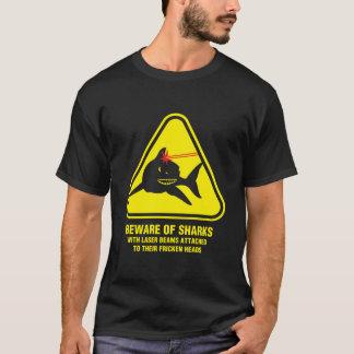 鮫のビーム Tシャツ