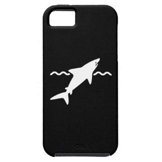 鮫のピクトグラムのiPhone 5の場合 iPhone SE/5/5s ケース