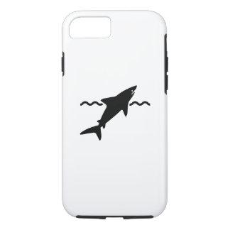 鮫のピクトグラムのiPhone 7の場合 iPhone 8/7ケース