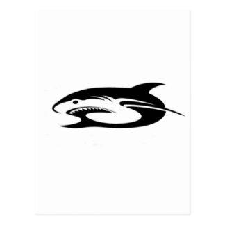 鮫のロゴプロダクト ポストカード