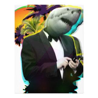 鮫の人 レターヘッド