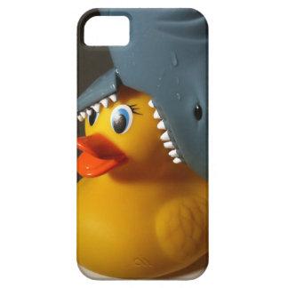 鮫の帽子のゴムアヒル iPhone SE/5/5s ケース