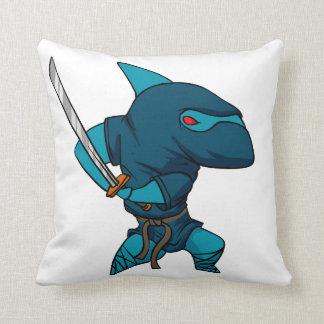 鮫の忍者 クッション