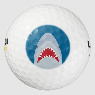 鮫の攻撃のゴルフ・ボール ゴルフボール