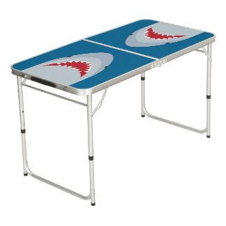 鮫の攻撃のテールゲートのPongのテーブル ビアポンテーブル