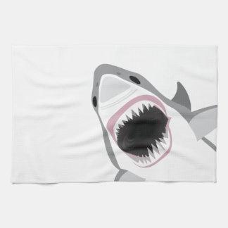 鮫の攻撃 キッチンタオル