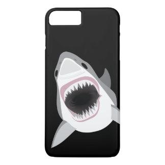 鮫の攻撃-ホホジロザメはかみ傷を示します iPhone 8 PLUS/7 PLUSケース