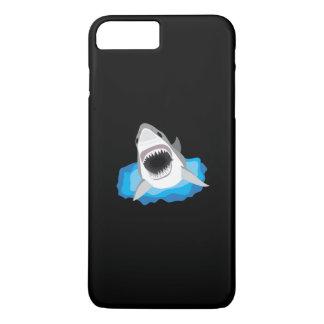 鮫の攻撃-ホホジロザメ iPhone 8 PLUS/7 PLUSケース