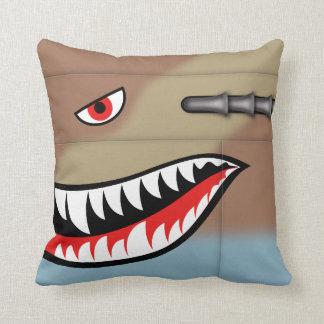 鮫の歯 クッション