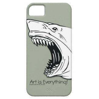 鮫の穹窖のやっとそこにiPhone 5/5Sの場合 iPhone SE/5/5s ケース