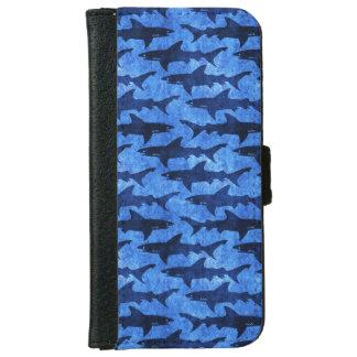 鮫の青い学校 iPhone 6/6S ウォレットケース