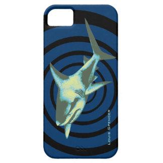 鮫の魚の野生動物の回転 iPhone SE/5/5s ケース