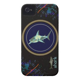 鮫の魚、野生の海洋動物 Case-Mate iPhone 4 ケース