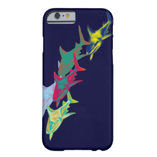 鮫の魚-野生動物 iPhone 6 ベアリーゼアケース
