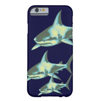 鮫の魚、野生動物 iPhone 6 ベアリーゼアケース