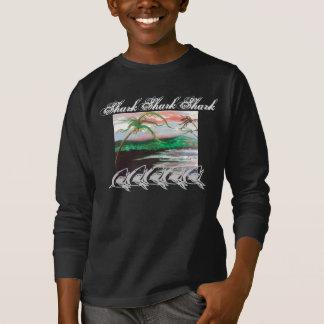 鮫の鮫の鮫 Tシャツ
