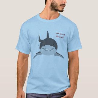 鮫の   招待 Tシャツ