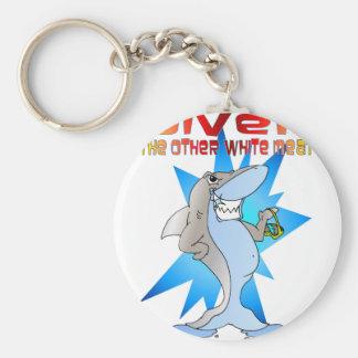 鮫はダイバーを食べます キーホルダー
