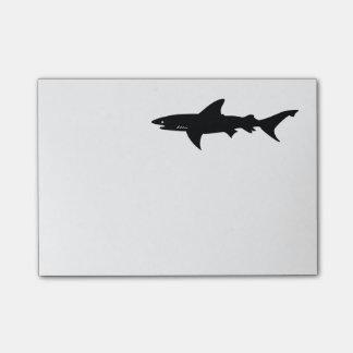 鮫は鮫の引くことの用心します ポストイット