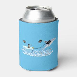鮫を持つ海賊ペンギン 缶クーラー
