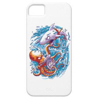 鮫対巨大なタコ iPhone 5 Case-Mate ケース