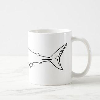 鮫 コーヒーマグカップ