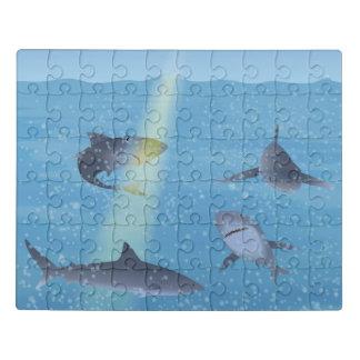 鮫 ジグソーパズル