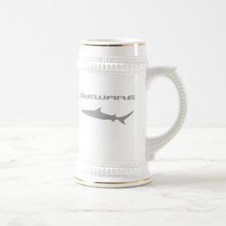 鮫 ビールジョッキ