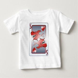鮫 ベビーTシャツ