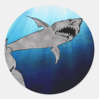 鮫 ラウンドシール