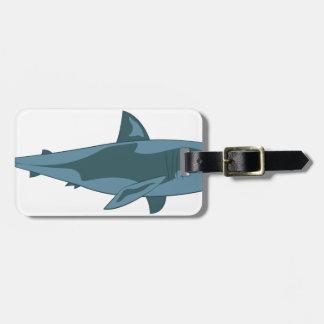 鮫 ラゲッジタグ