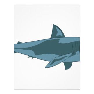 鮫 レターヘッド