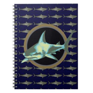 鮫、危ない鮫 ノートブック
