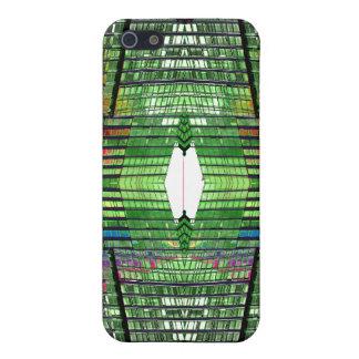 鮮やかで珍しい虹スペクトル色はあります iPhone 5 カバー