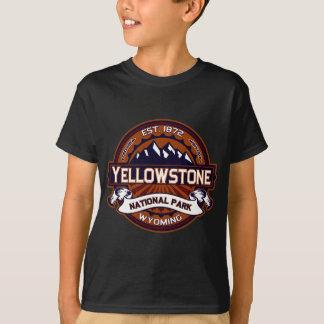 鮮やかなイエローストーン Tシャツ