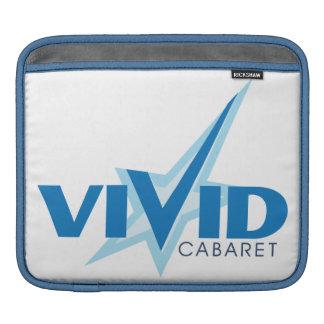 鮮やかなキャバレーのiPadの袖 iPadスリーブ