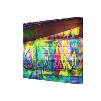 鮮やかなデジタル絵画の壁のキャンバス キャンバスプリント